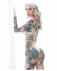 "182 Likes, 3 Comments - TATTOOED GIRLS (@tattooed.dolls) on Instagram: ""Great ink lotsa skin DOLL @littleinkedlady_ Spotted @tattooed.baes Don't be selfish, tag your…"""
