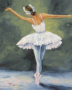The Ballerina II Acrylic Print by Torrie Smiley. All acrylic prints are professionally printed, packaged, and shipped within 3 - 4 business days and delivered ready-to-hang on your wall. Ballerina Painting, Ballerina Art, Ballet Art, Ballet Drawings, Art Drawings, Dance Paintings, Painting People, Dance Art, Dance Photography