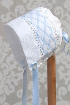 You have found the absolutely perfect outfit for your baby to wear for their special day. What about the bonnet to make the outfit complete? Here is a beautiful Heirloom Shadow Work Bonnet that does just that. It is the ideal bonnet for either a baby boy or baby girl. This bonnet has a central shadow... Read more »