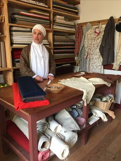 Severinus Durfey Genteel Tailoring at Colonial Williamsburg