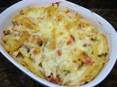 The Well-Fed Newlyweds: Queso Chicken Pasta