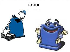 triedenie odpadu - papier