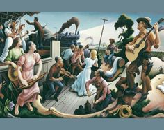 thomas hart benton paintings | Thomas Hart Benton Paintings Wallpapers