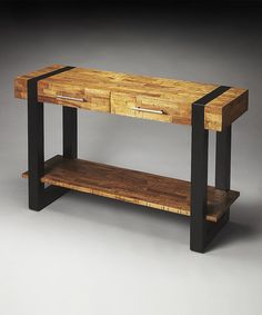 Look what I found on #zulily! Maple Console Table #zulilyfinds