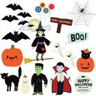 All of the excitement of Halloween is rolled into this fun clip art set. Enjoy cute bats, ghosts, black cats, and your favorite ghastly Halloween c...