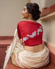 Blouse Back Neck Designs, Fancy Blouse Designs, Bridal Blouse Designs, Saree Jacket Designs, Cotton Saree Blouse Designs, Sari Blouse, Designer Blouse Patterns, Skirt Patterns, Coat Patterns