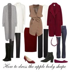 Dressing for the apple body shape can sometimes be a challenge. Here are my tips on how to dress the apple body shape and look fabulous! Apple Body Shape Outfits, Apple Shape Fashion, Dresses For Apple Shape, Apple Body Shape Clothes, Apple Body Type, Apple Body Shapes, Cool Winter, Body Positivity, Apple Dress