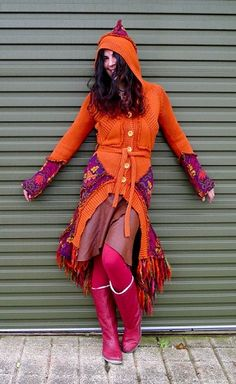 Upcycled knitwear by Darryl Black. OOAK fashion. See more at http://theupcyclemovement.com/library-of-upcyclers-regions/directory/uk/296-darryl-black