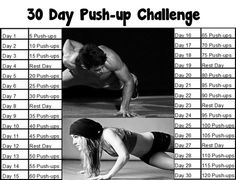 30 day pushup challenge - Google Search