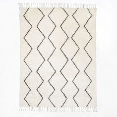 Souk Wool Rug | west elm 9 ft x 12 ft £950 no delivery to UK yet