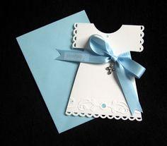Marnino veselje - Handmade Christening Card  --- made by Marna