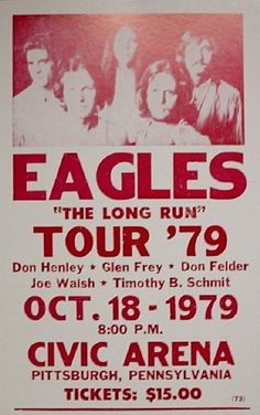Long Run Tour Poster