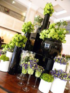 viburnum shop presentation spring at the florist