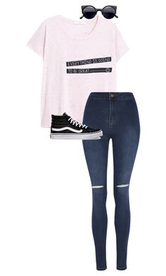 """""""./.././...//.//...."""" by anna-mae-equils on Polyvore featuring MANGO, George and Vans"""