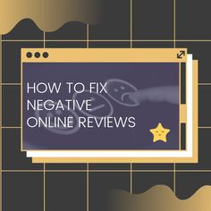 """""""I have a few bad online reviews. What should I do?"""" is a commonly asked question.  Managing your online reputation is imperative for your business' future success. Visit our blog for tips on how to fix negative online reviews. Online Reviews, Marketing Plan, Success, This Or That Questions, Future, Digital, Business, Tips, Blog"""