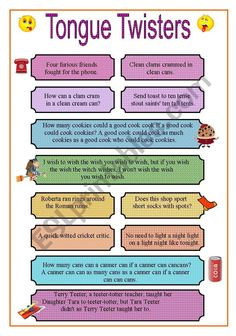 Challenge your students with these tongue twisters! Hope you have lot of fun l… Challenge your students with these tongue twisters! Hope you have lot of fun like I did with my students! Funny Riddles, Jokes And Riddles, Funny Jokes For Kids, Kid Jokes, English Writing Skills, English Lessons, Teaching English, English Vocabulary Words, Learn English Words