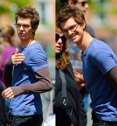 Andrew Garfield: the nerd we want when we say we like nerds.