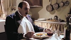 David Suchet *IS* Hercule Poirot in 'The Murder of Roger Ackroyd' Hercule Poirot, Agatha Christie's Poirot, Miss Marple, Death In The Clouds, Crime, I Love The World, David Suchet, Classic Fashion, Spam