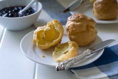 Gluten Free Pate Choux Recipe with water, butter, fine sea salt, sweet rice flour, large eggs