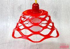 luminária moderninha de fruteira, diy
