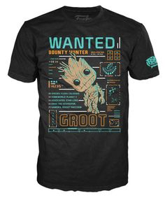 Pop! Tees: Guardians of the Galaxy - Groot Line Up