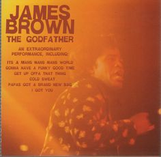 The Godfather by James Brown - CD, Newsound, 2003,  #FunkMotownSoul