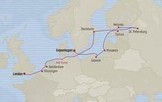 London to Copenhagen Scandinavian Glory