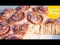 The Best, Softest  Cinnamon Rolls | Cupcake Jemma - YouTube