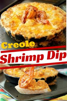 Spicy Creole Shrimp Dip-Creole Contessa