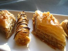 Home Cooking In Montana: Baklava...a great Christmas treat.