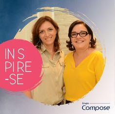 As primeiras ganhadoras do trimestre do Programa Inspire-se, as profissionais Daniela Cuzzuol, Monica Cupertino e Rita Garajau.‪#‎GrupoComposé‬ ‪#‎Inspirese‬
