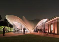 Serpentine Sackler Gallery by Zaha Hadid Architects