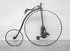 Penny Farthing w extended pedals