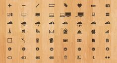 100 Free Icons. Vector shapes. Great.    Free.