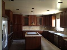 Beautiful traditional #kitchen, For more information visit this site http://www.palatinremodeling.com/gallery/kitchen-remodel/