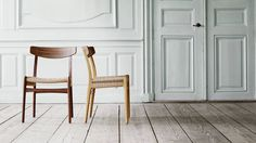 CH23 historic Chair is be back in production, designed by Hans J. Wegner for Carl Hansen & Søn,  Get The Originals at www.2ndfloor.gr