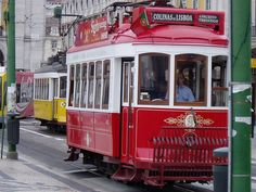 Tram at Lisbon China Train, All Over The World, Around The Worlds, Train Light, Tramway, Light Rail, Old World Charm, City Break, Great Pictures