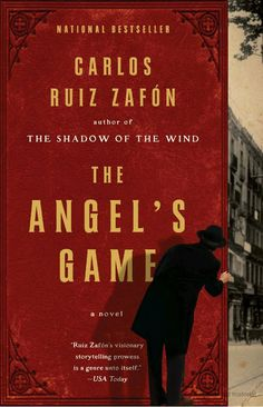 The Angel's Game by Carlos Ruiz Zafón - BookBub Book Club Books, New Books, Good Books, The Book, Books To Read, Amazing Books, Pulp Fiction, Fiction Books, The Angel's Game