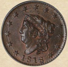 1818 Large Cent obverse