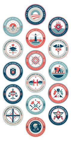 US Department Seals (student work) — Ricky Linn