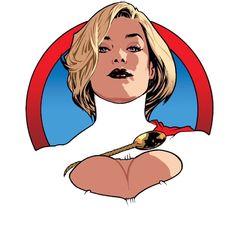 Power Girl by Adam Hughes