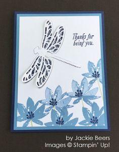 by Jackie Beers, Stampin' Up! card swap