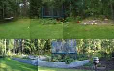 Omakotitalon #takapiha #ennenjajälkeen - #backyard #beforeandafter Gardens, Backyard, Building, Outdoor Decor, Home Decor, Patio, Decoration Home, Room Decor, Buildings