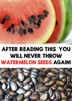 Nobody likes watermelon seeds, which often end up in the trash! After Reading This, You Will Never Throw Watermelon Seeds Again!