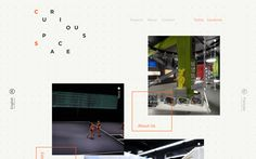 Curious Space | Best Website Gallery – Web Design Trends –hand picked by @davidhellmann