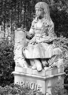Little Gracie Watson, Bonaventure Cemetery, Savannah ~ Kelly Conway