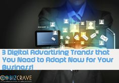 3 Digital Advertising Trends that You Need to Know For Your Business #webdesignvancouverhttps://goo.gl/bApUWP