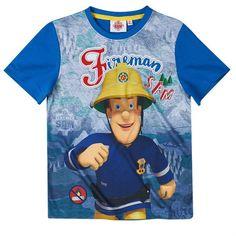 Palomies Sami t-paita Fireman Sam, Boys, Mens Tops, T Shirt, Character, Clothes, Design, Fashion, Baby Boys