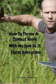 Whether you're a beginner, or a little more advanced you'll find the knife throwing techniques in this video absolutely work. Survival Tools, Wilderness Survival, Camping Survival, Outdoor Survival, Survival Knife, Survival Prepping, Survival Weapons, Survival Stuff, Urban Survival