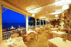 Ristorante Il Pirata | Positano - Amalfi Coast.  Have the sea urchin linguini